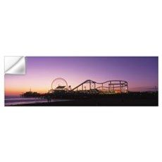 Amusement Park Santa Monica CA Wall Decal