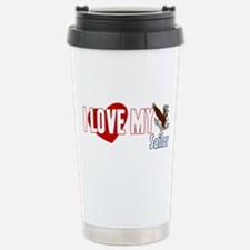 I Love My Sailor Stainless Steel Travel Mug
