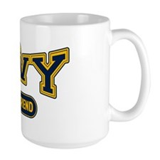 Navy Girlfriend Mug
