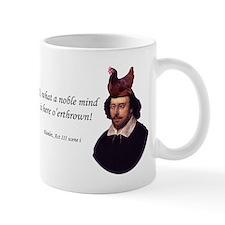 noble mind rectangle Mugs
