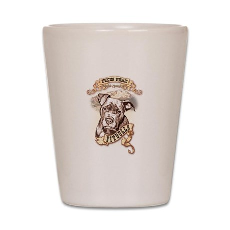 Pikes Peak Pitbulls Shot Glass
