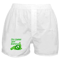 No Beer Left Behind Boxer Shorts