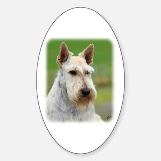 Scottish Terrier AA063D-101 Sticker (Oval)