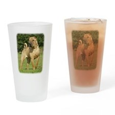Shar Pei 9A098D-11 Drinking Glass