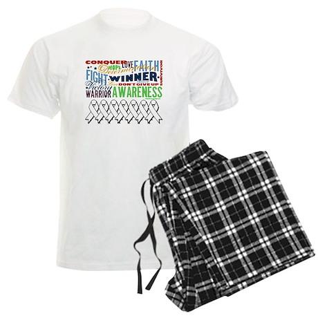 Empowering Lung Cancer Men's Light Pajamas