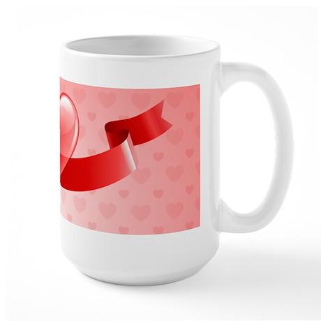 Cute Valentines Day Mugs Large Mug