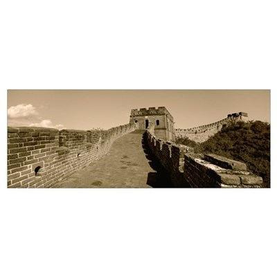 China, View of the Great Wall of China Canvas Art