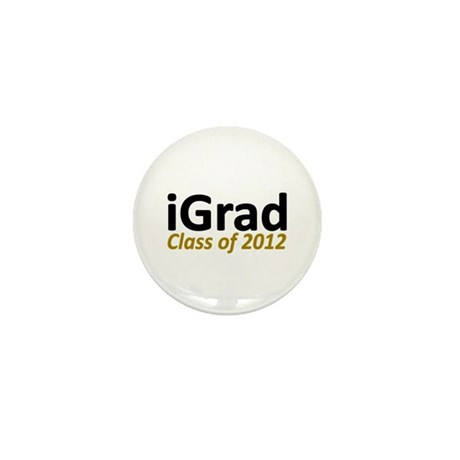 iGrad Class of 2012 Mini Button (10 pack)