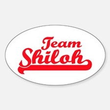 Team Shiloh Oval Decal