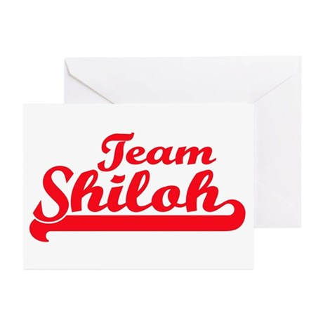 Team Shiloh Greeting Cards (Pk of 10)