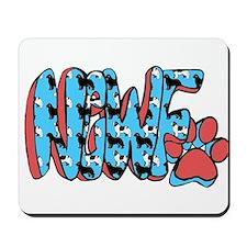 Newfoundland graffitti Mousepad