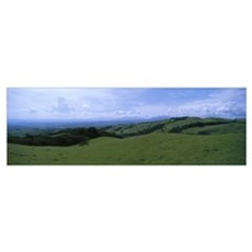 Farm Land Santa Luis Valley Puntarenas Costa Rica Poster