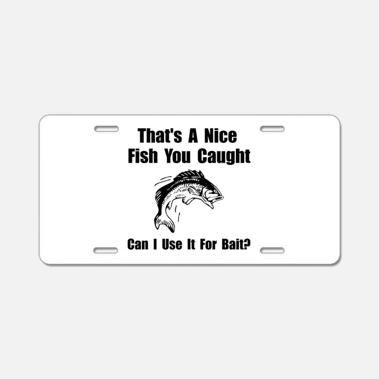 Funny fishing line license plates funny fishing line for Fishing license plate
