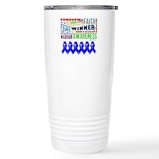 Empowering Colon Cancer Thermos Mug