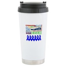 Empowering Colon Cancer Travel Coffee Mug