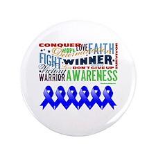 "Empowering Colon Cancer 3.5"" Button"