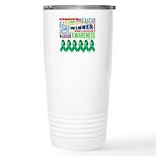 Empowering Liver Cancer Travel Mug