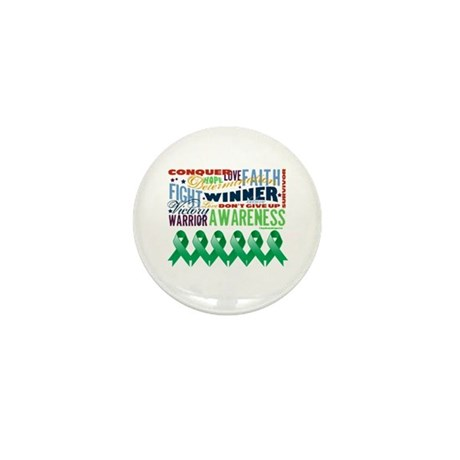 Empowering Liver Cancer Mini Button