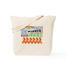 Empowering Leukemia Tote Bag
