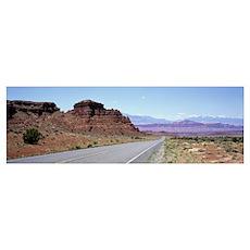 Desert Road UT Poster