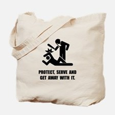 Get Away With It Tote Bag