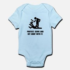 Get Away With It Infant Bodysuit