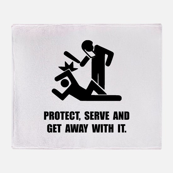 Get Away With It Throw Blanket