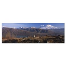 Mt St Helens National Volcanic Monument WA Poster