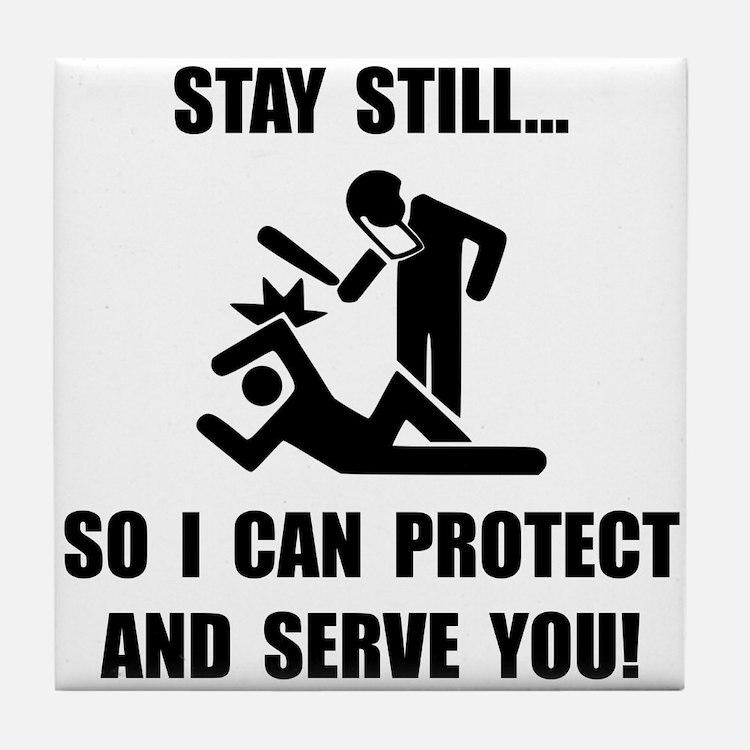 Protect Serve Tile Coaster