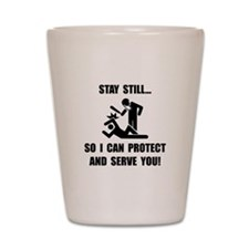 Protect Serve Shot Glass