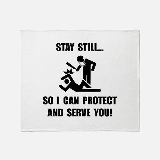 Protect Serve Throw Blanket