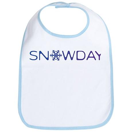 Snowday Bib