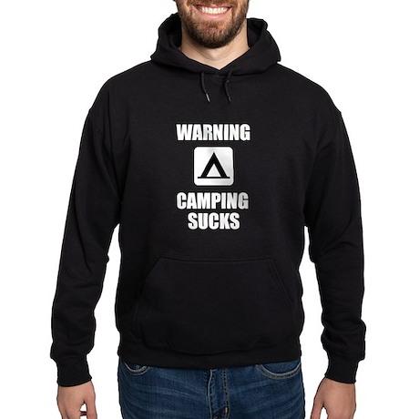 Camping Sucks Hoodie (dark)