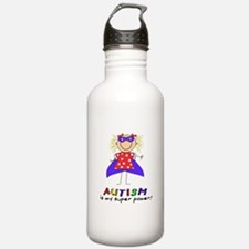 Autism Is My Super Power! Water Bottle