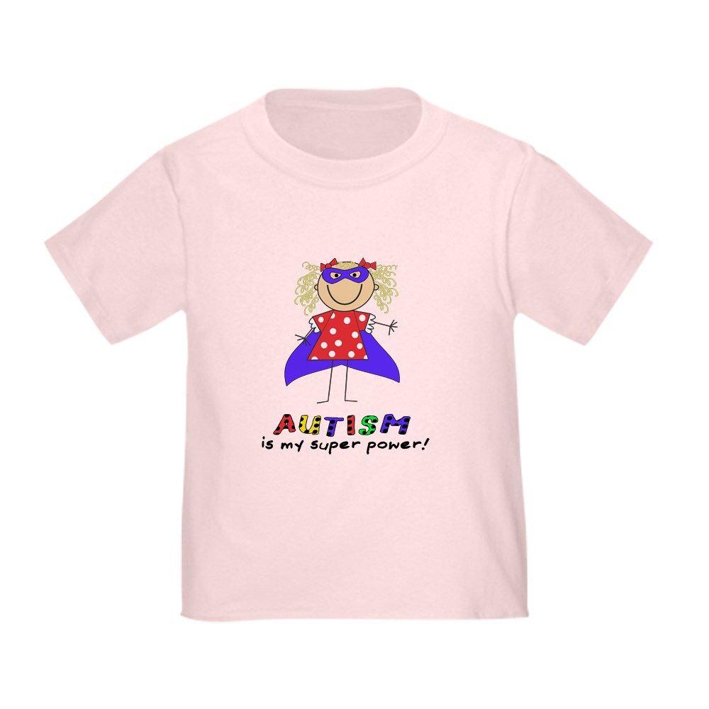 614315185 Toddler T Shirt Toddler T-Shirt CafePress Autism Is My Super Power