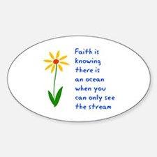 Faith is Knowing V3 Decal
