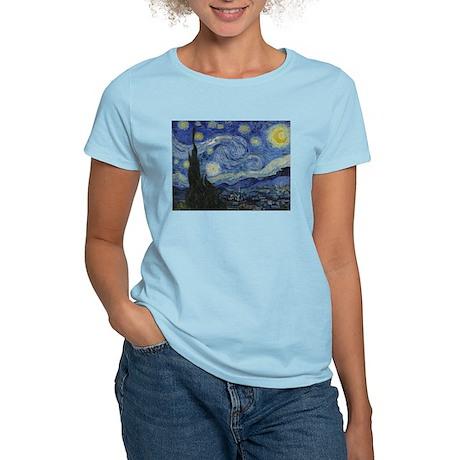 Starry Trekkie Night Women's Light T-Shirt