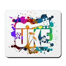 Color Me Uke! Mousepad
