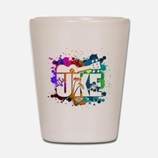 Color Me Uke! Shot Glass