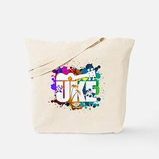 Color Me Uke! Tote Bag