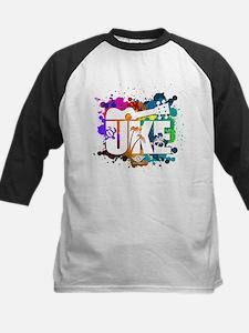 Color Me Uke! Kids Baseball Jersey