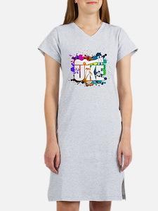 Color Me Uke! Women's Nightshirt