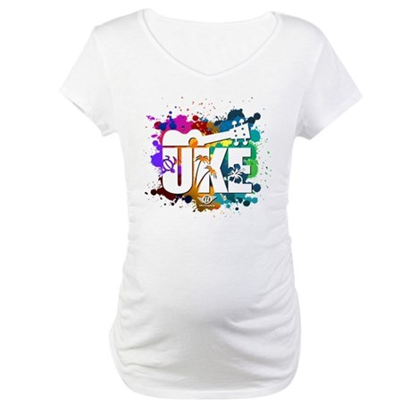 Color Me Uke! Maternity T-Shirt