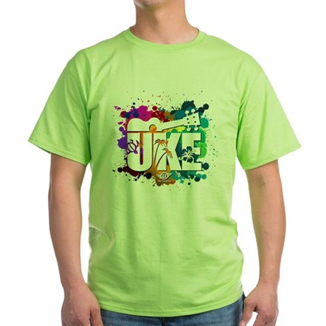 Color Me Uke! Green T-Shirt