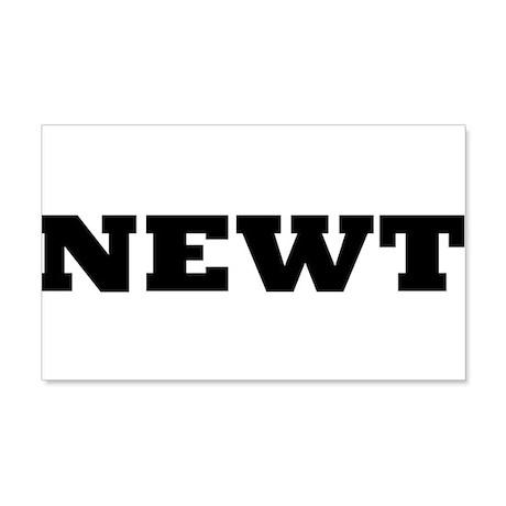 Newt 22x14 Wall Peel