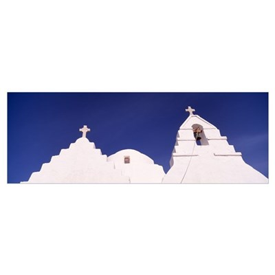 Mykonos Greece Framed Print