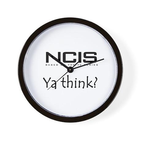 NCIS Ya Think? Wall Clock