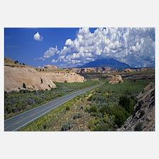 Utah, Canyon Country, road