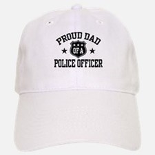 Proud Dad of a Police Officer Baseball Baseball Cap
