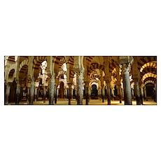 Spain, Corbada, La Mezquita Mosque Poster